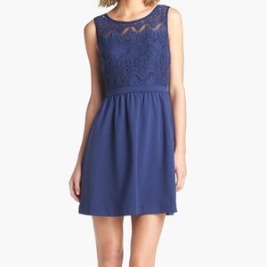 Lilly Pulitzer Rhea Dress in Navy